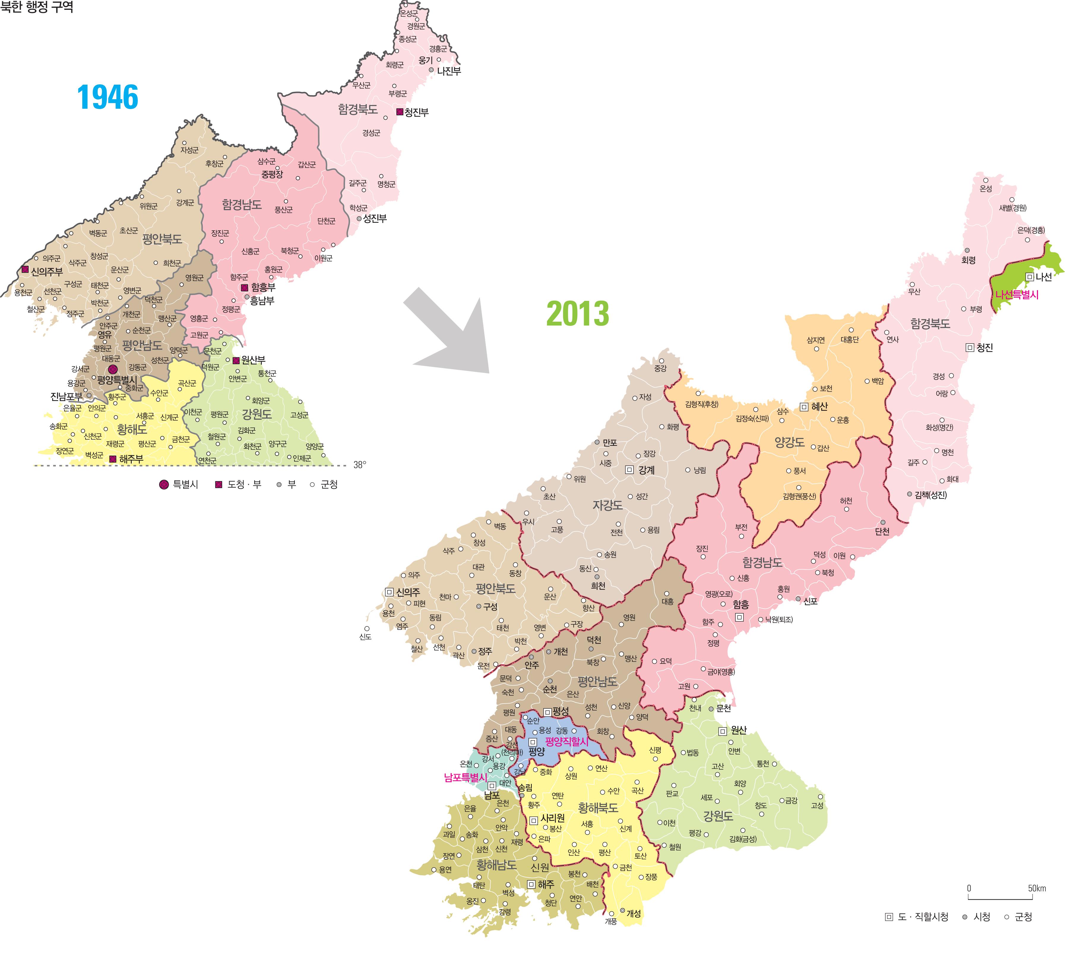 북한 행정 구역