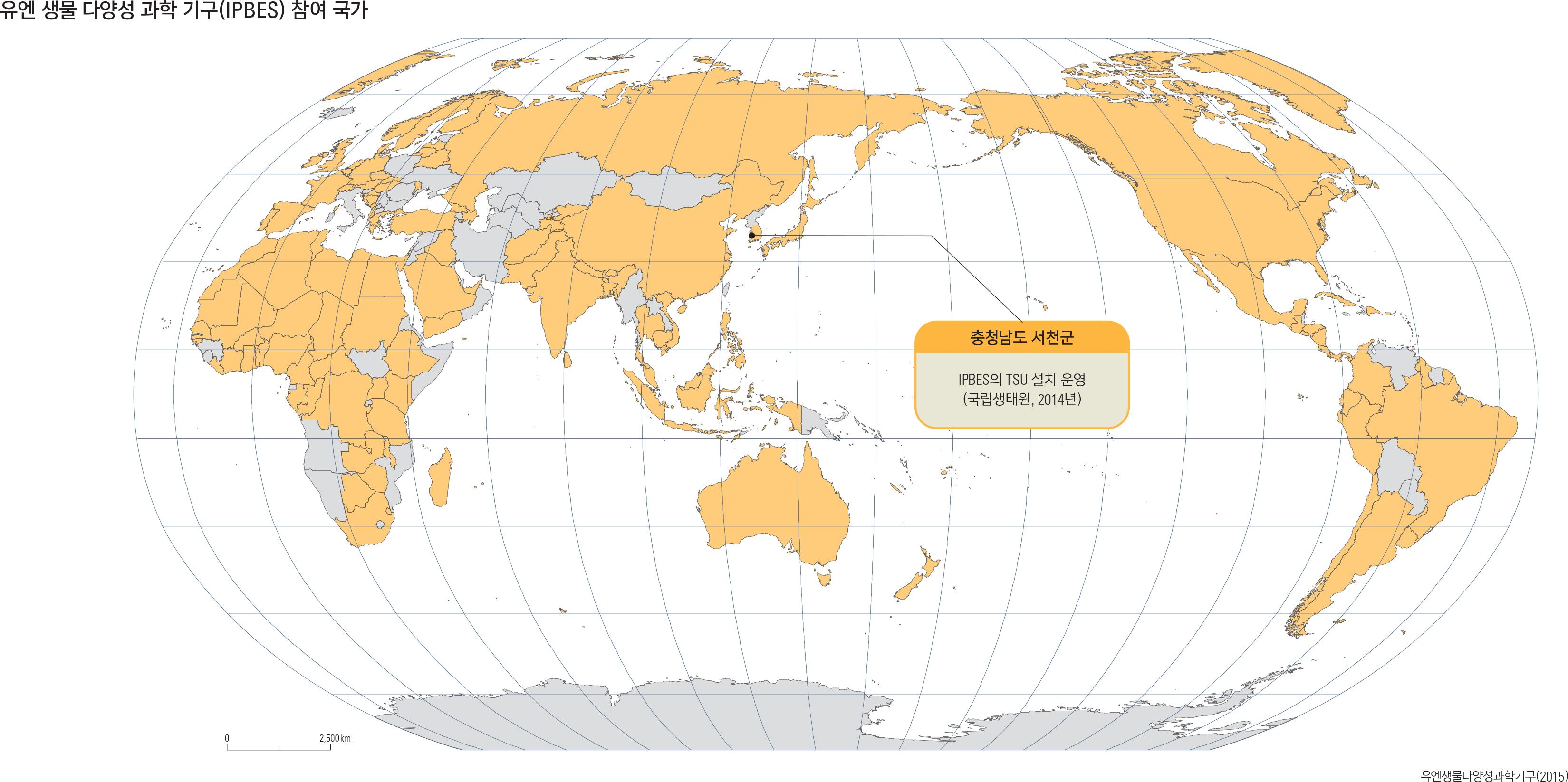유엔 생물 다양성 과학 기구(IPBES) 참여 국가