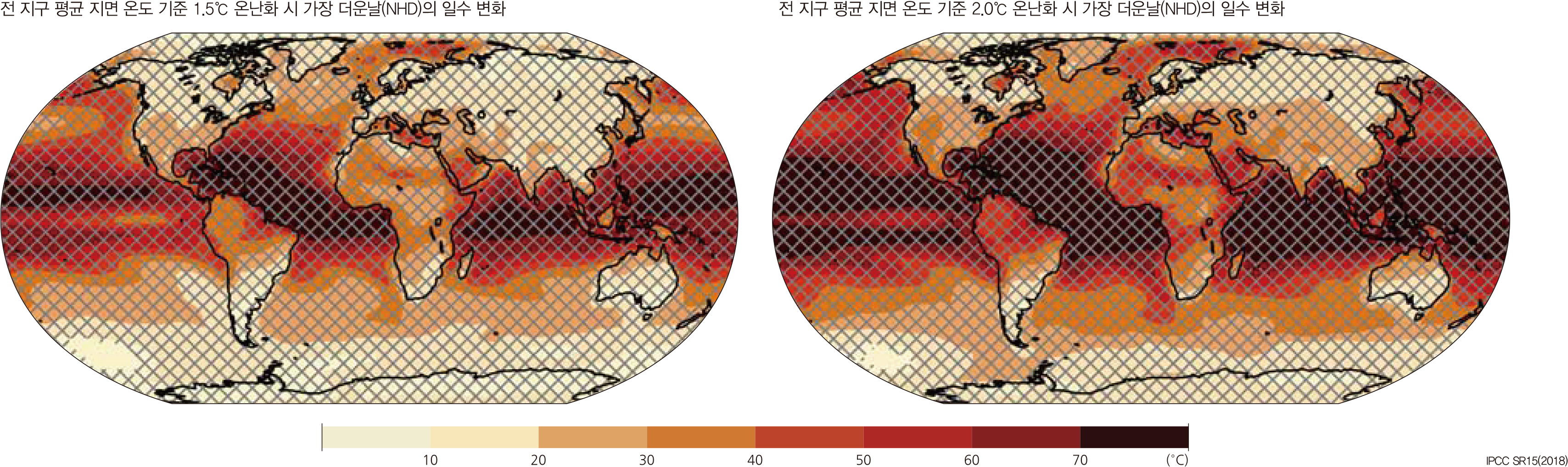 전 지구 극한 기온 지수 전망