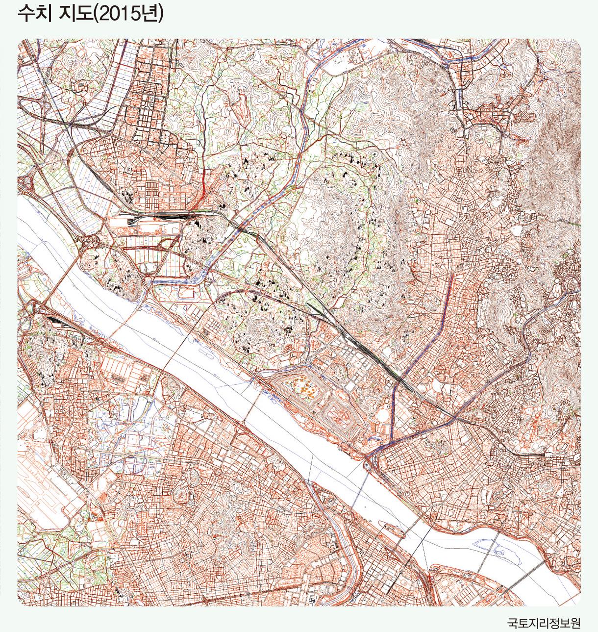 수치 지도(2015년)