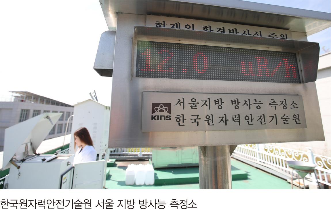 한국원자력안전기술원 서울 지방 방사능 측정소