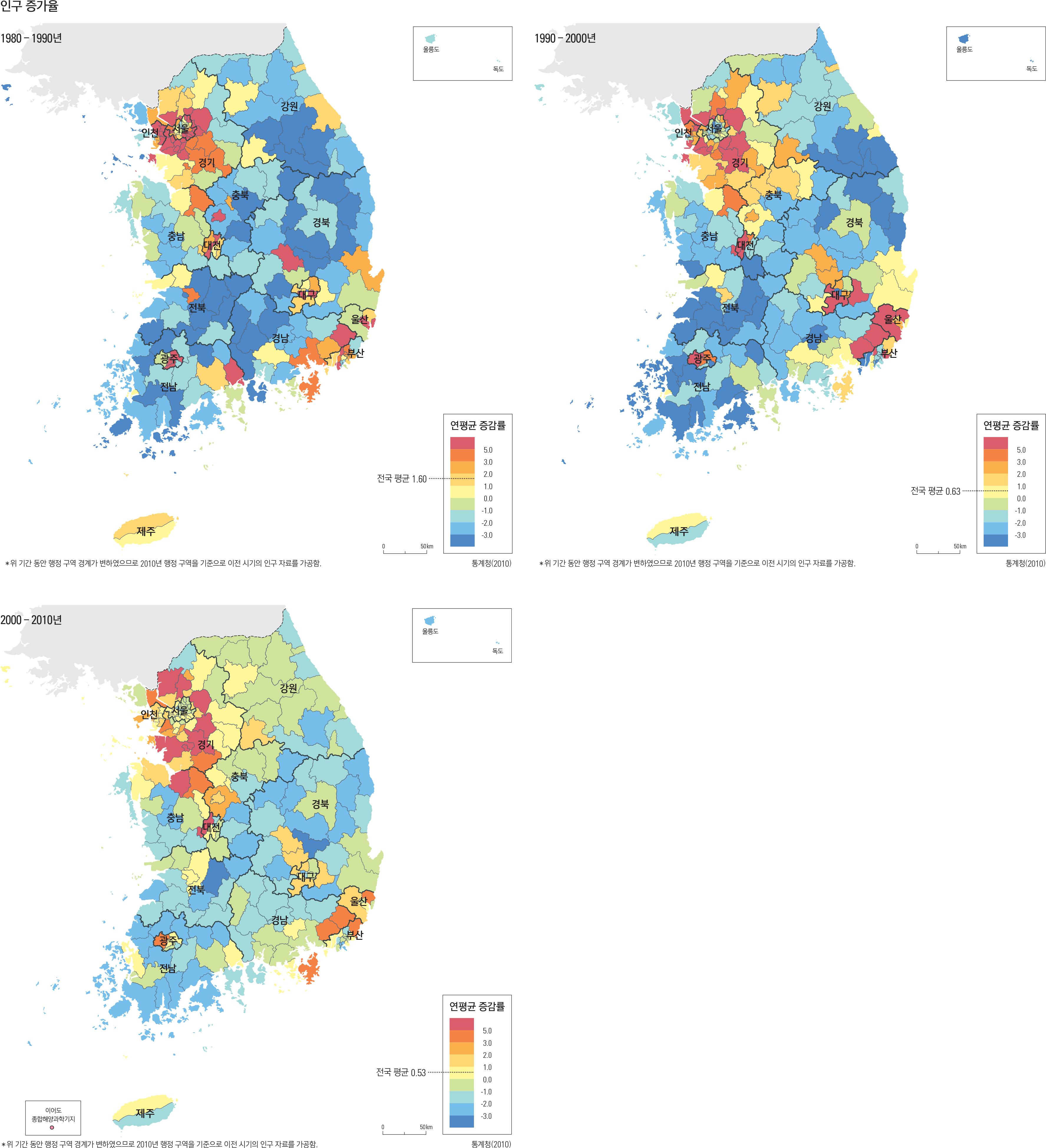 인구 증가율