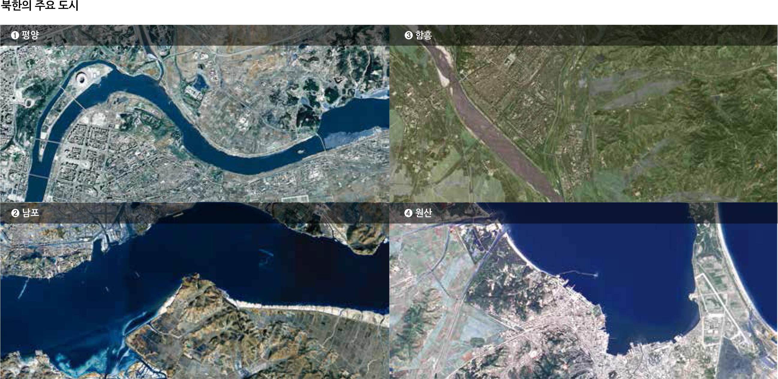 북한의 주요 도시
