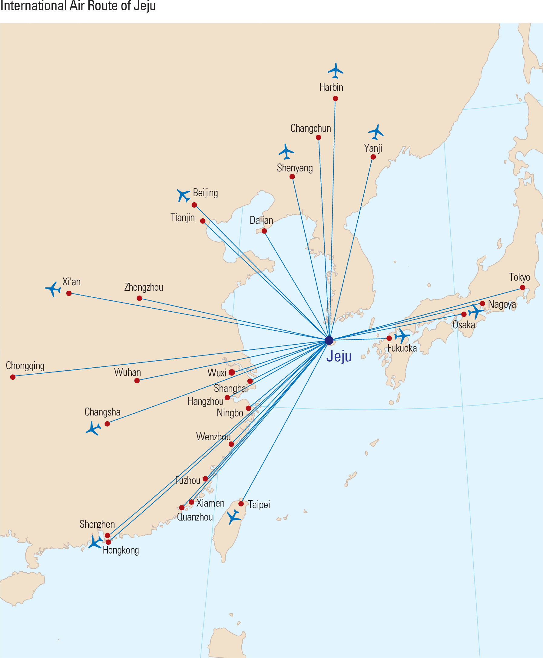 International Air Route of Jeju