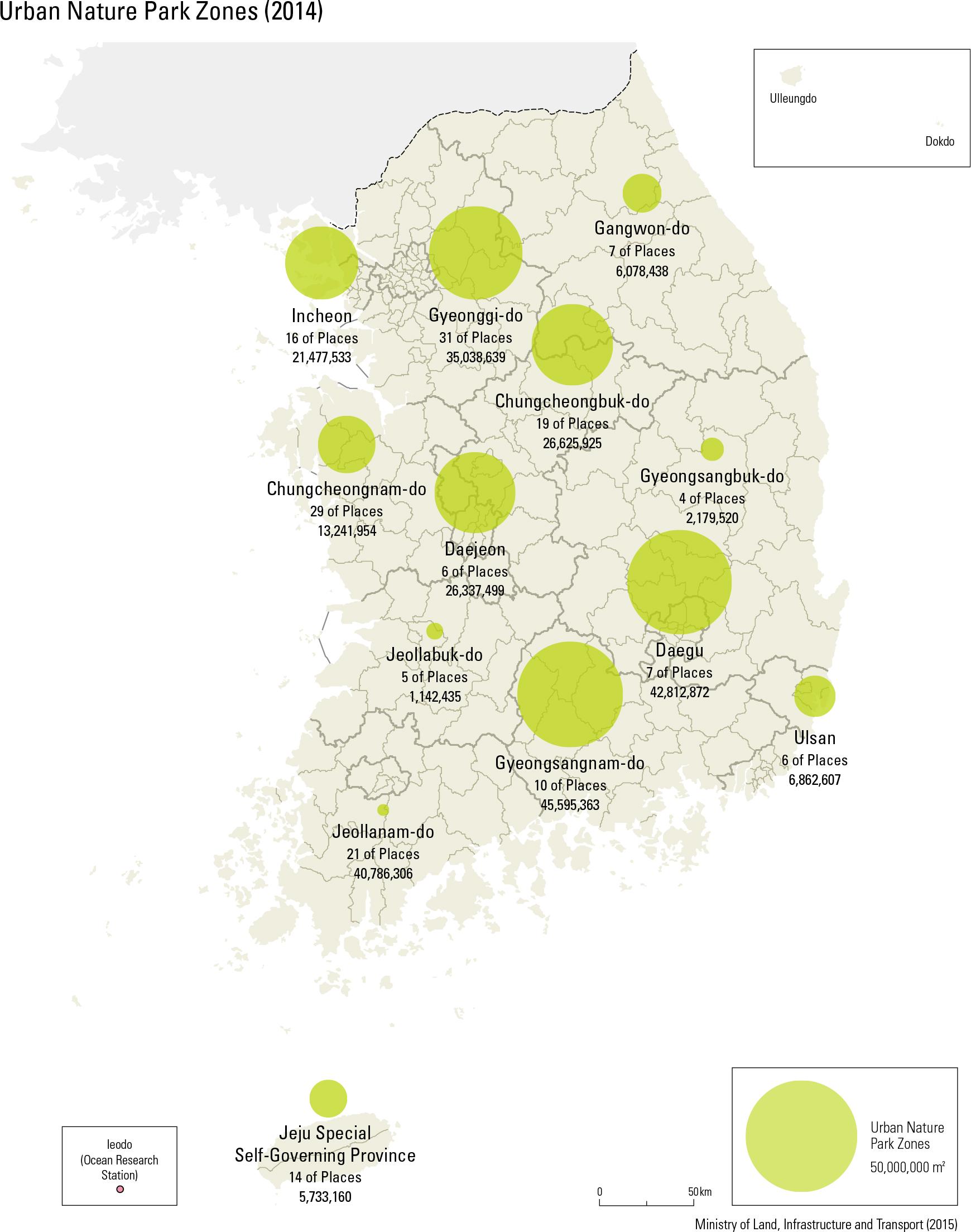 Urban Nature Park Zones (2014)