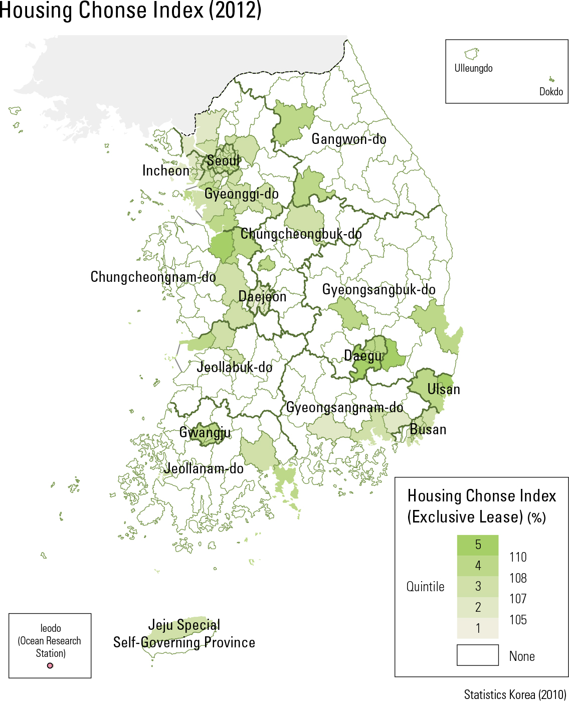 Housing Chonse Index (2012)