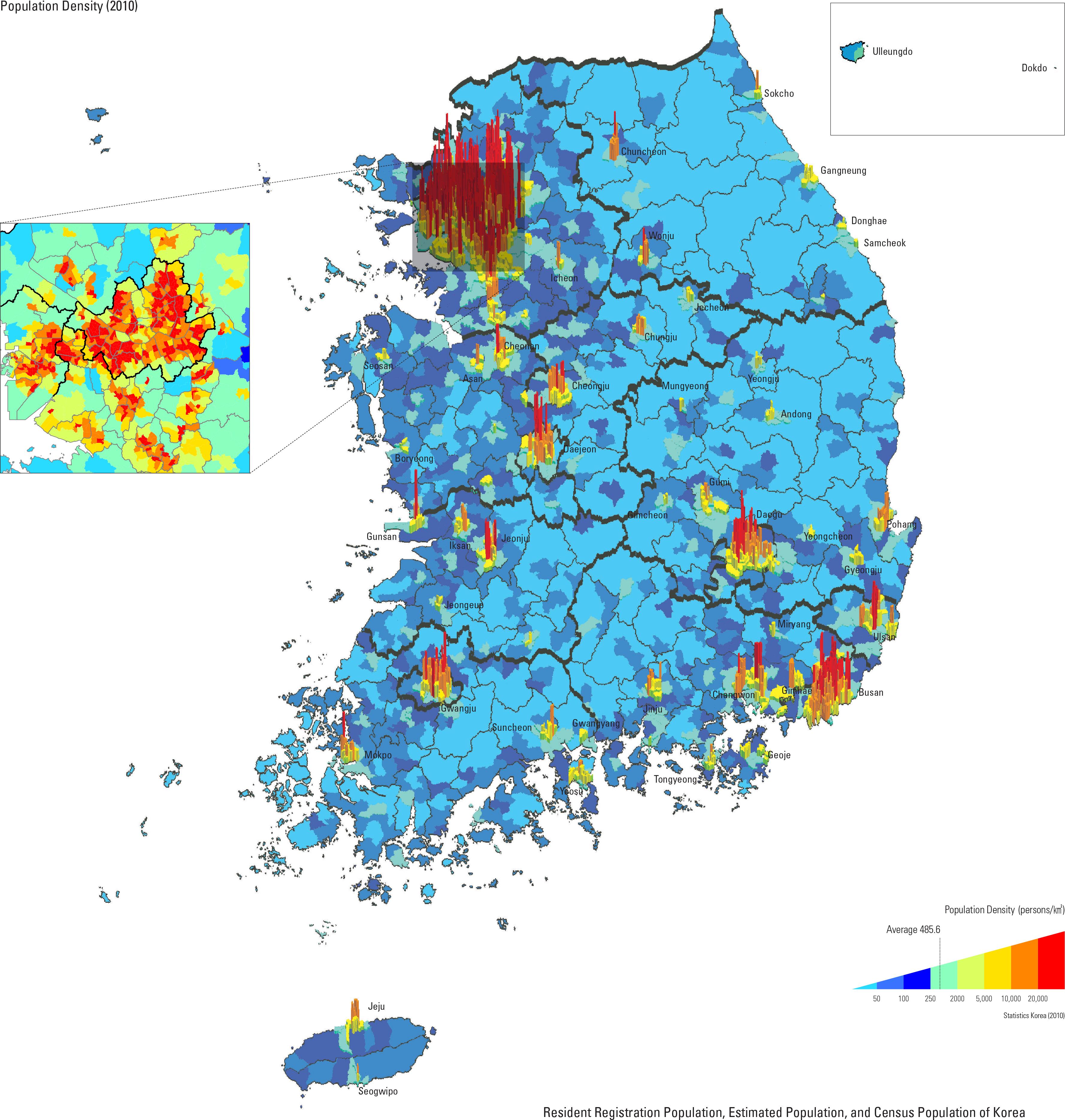 Population Density (2010)