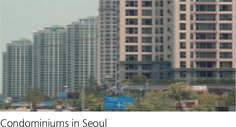 Condominiums in Seoul