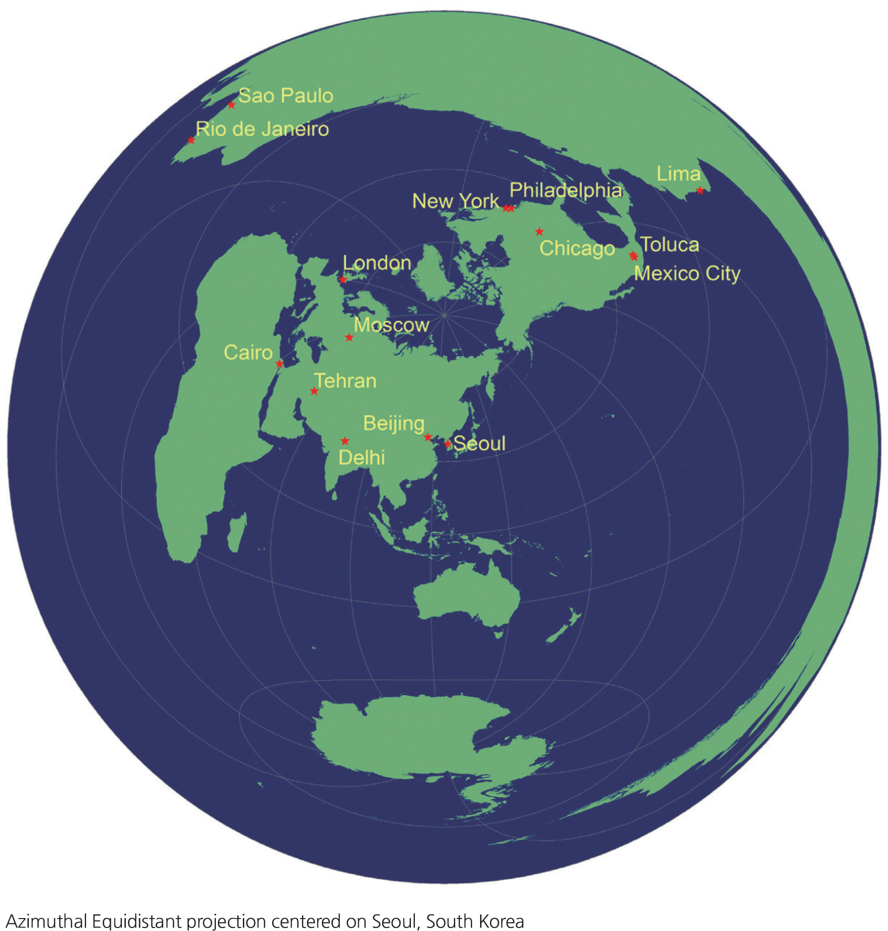 Where is Korea? Map Projections and Global Connections